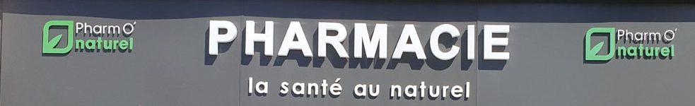 Facade 2018 de la Pharmacie Mai