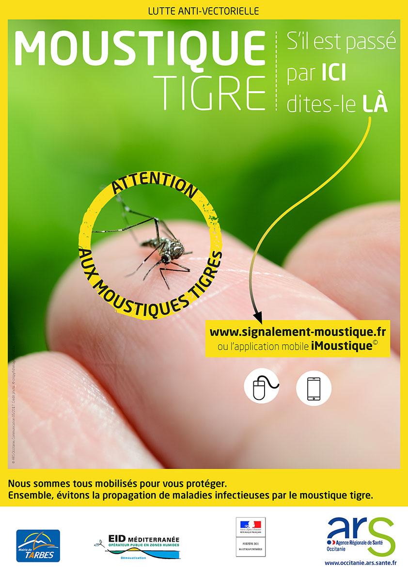 Affiche Lutte Anti Moustique Tigre