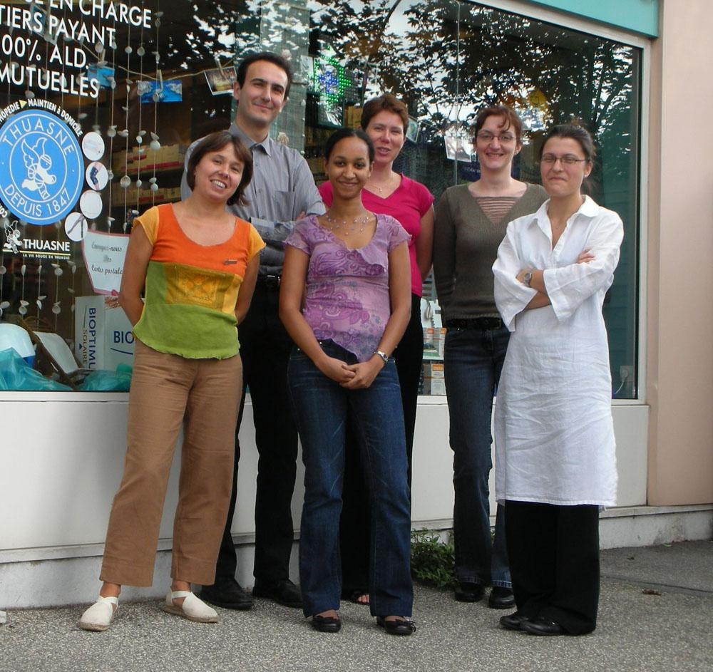 Les stagiaires de la Pharmacie Mai d'avant 2006